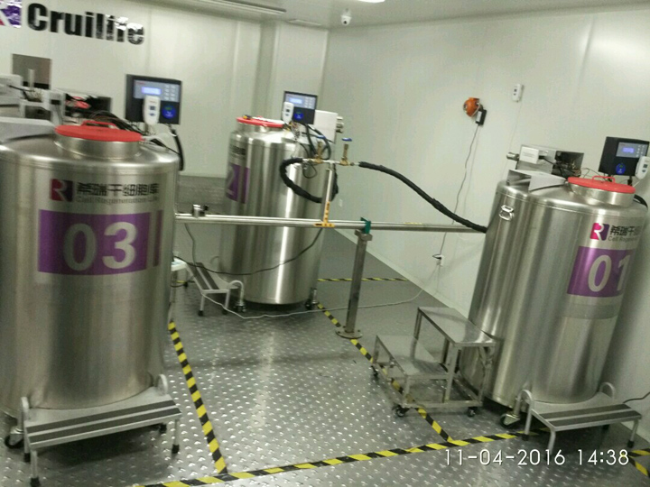 Biological liquid nitrogen products